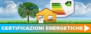 Rilascio certificazioni energetiche
