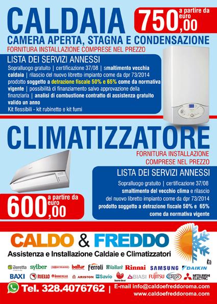 Offerta Caldaia e Climatizzatore