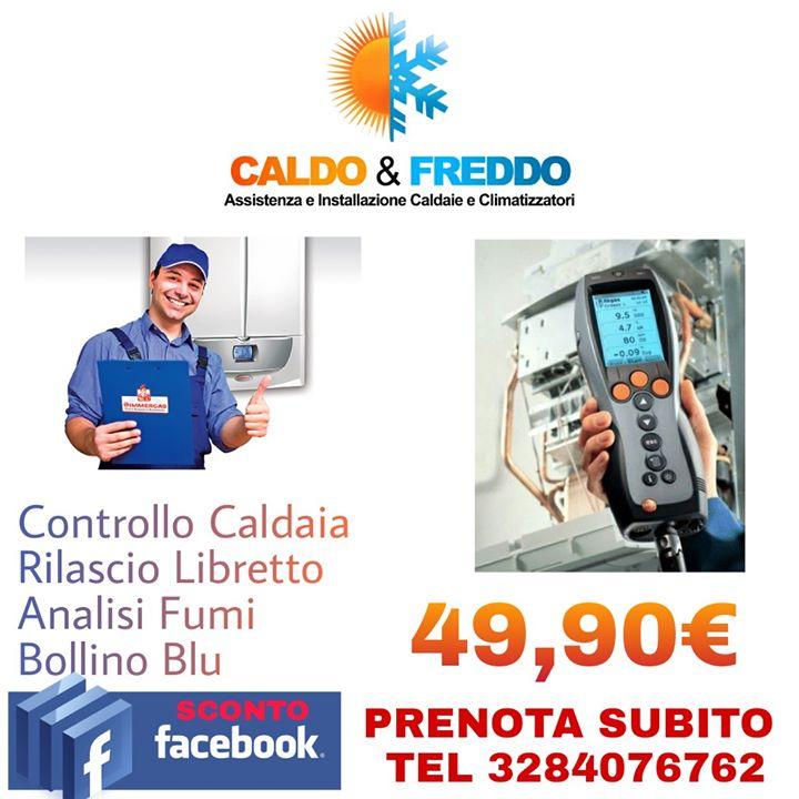 Caldo e freddo roma offerta controllo caldaia for Controllo caldaia obbligatorio 2016