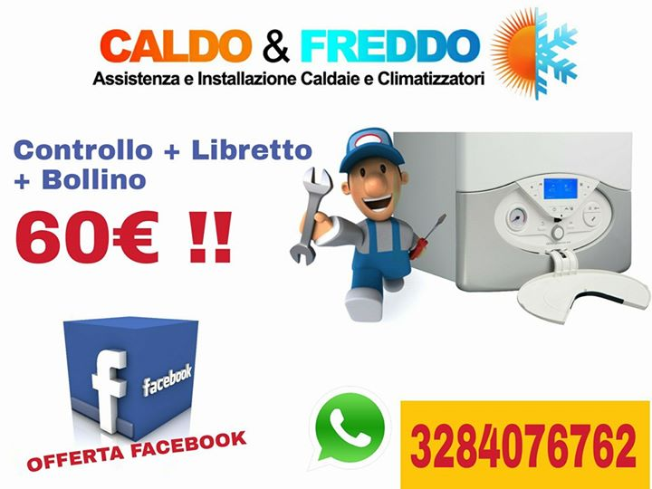 Caldo e freddo roma controllo caldaia bollino libretto 60 for Controllo caldaia obbligatorio 2016